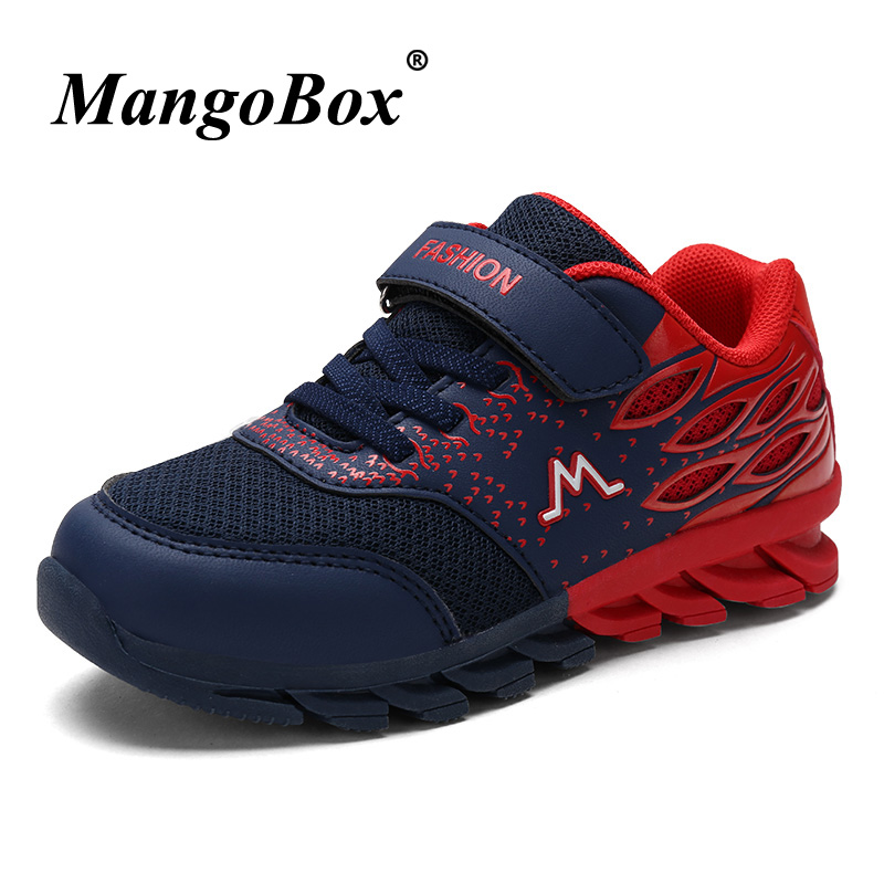 2018 New Boys Children Shoes Summer Boys Trainers Brand Designer Kids Shoes Boys Sneakers Mesh Breathable School Shoes For Boys