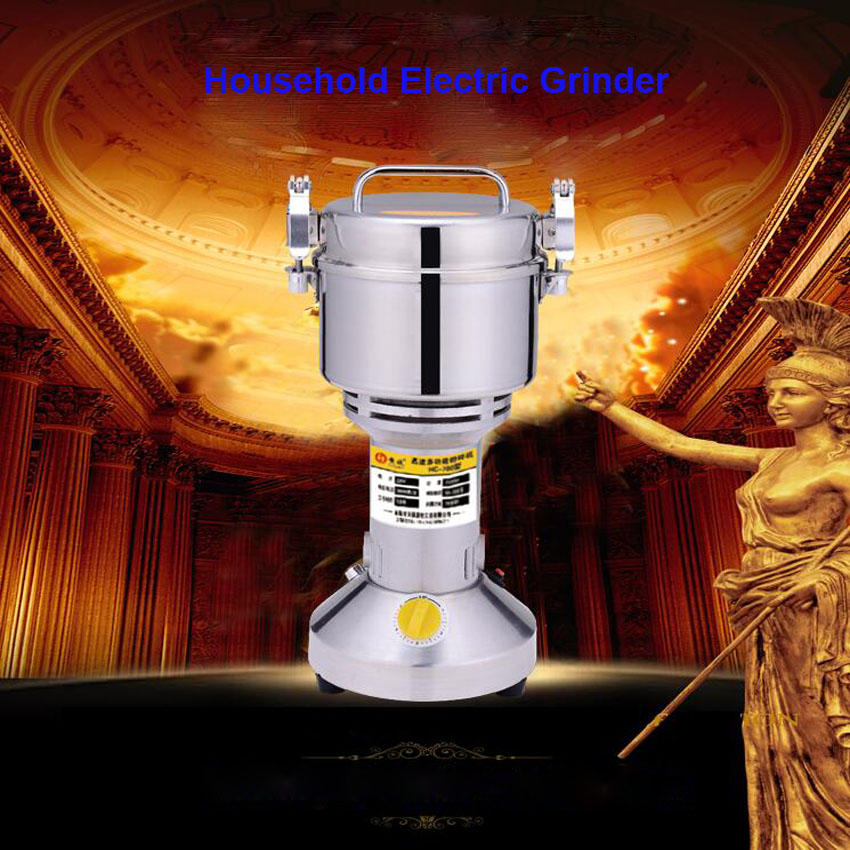 ФОТО 1PC HC-700 220V/110V Multifunction 700g Electric Grinder Herb Flour Coffee Pulverizer Food Mill Grinding Machine