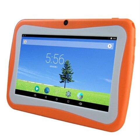 Máquina de Aprendizagem Jogo de Vídeo Nova Tablet Infantil pc 7 Polegada Andrews Quad-core Estudante Player Wi-fi Conexão Bluetooth Mp4 Mp5
