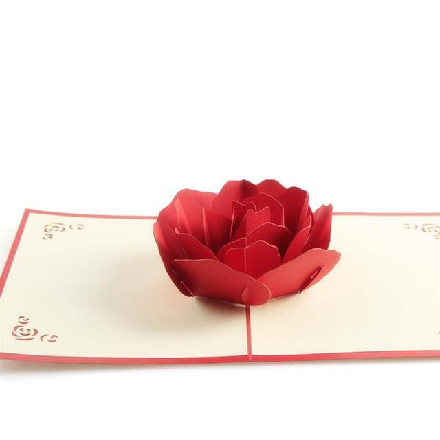 3d rose flower popup card hollow bouquet greeting card diy for 3d rose flower popup card hollow bouquet greeting card diy for valentines day mothers day birthday m4hsunfo