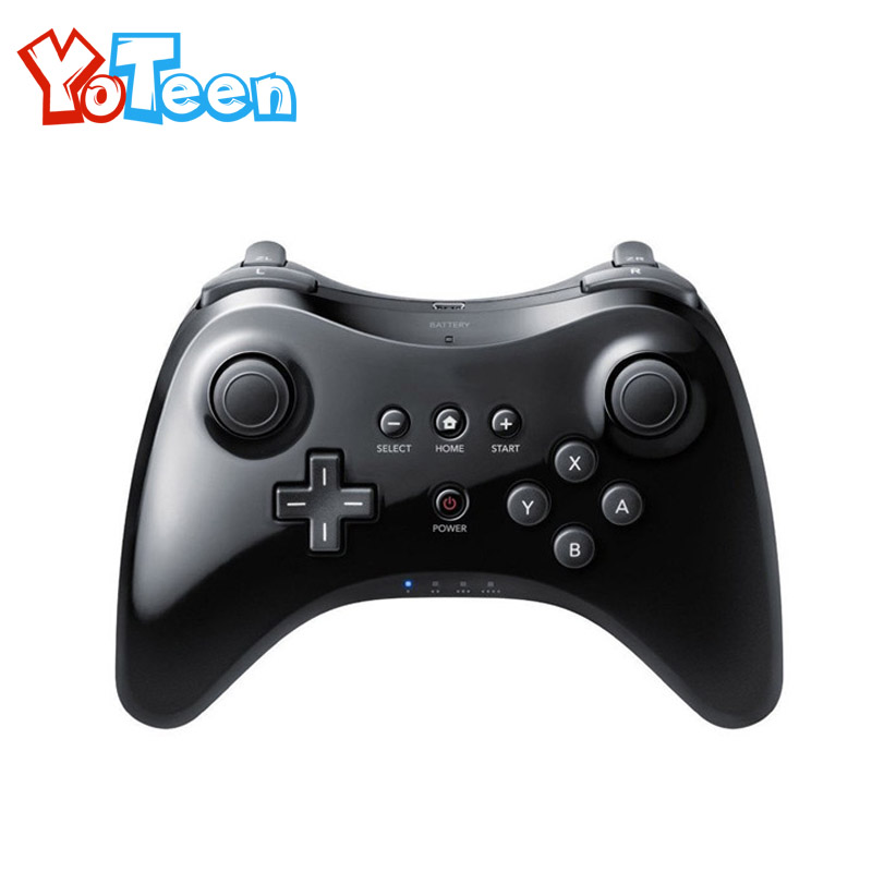 все цены на For Nintendo wiiu Wii for U Gamepad Pro Dual Analog Wireless Gamepad Game Controller Remote USB Bluetooth Remote Controller