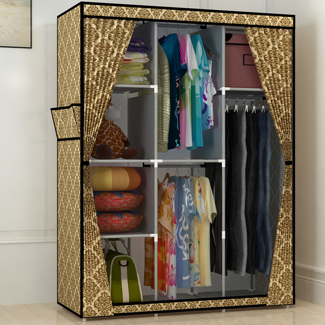 Furniture To Hang Clothes. Large Capacity Cabinet Product Family Can Be  Simple Dust Cloth Wardrobe