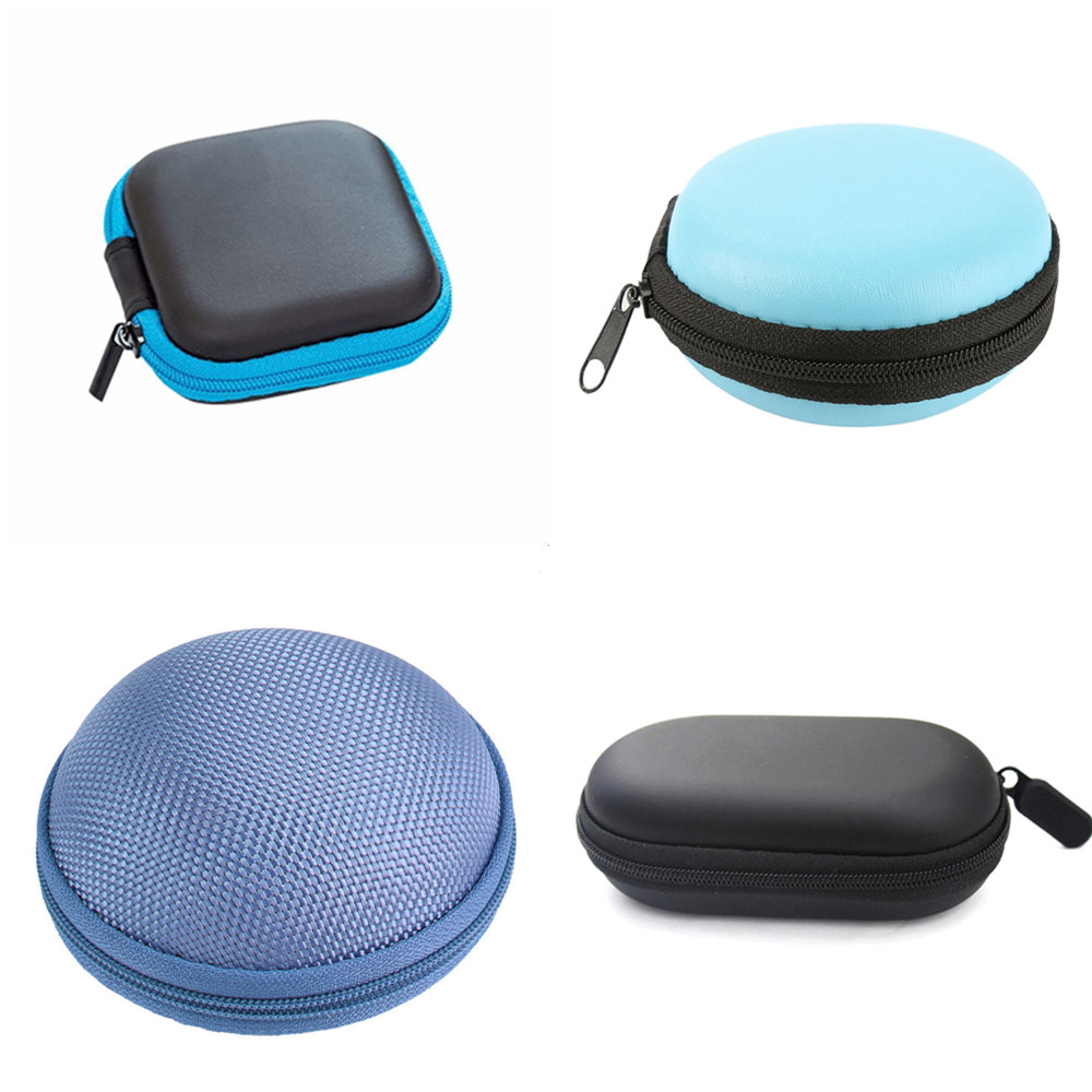 4 Size Storage Hold Case Storage Carrying Hard Bag Case for Earphone Headphone Earbuds Memory Card Outdoor Camping Climbing Hot