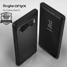 Ringke Onyx Case for Galaxy Note 8 Rugged Flexible Durable Anti Slip TPU Heavy Impact Case