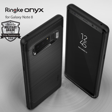Ringke Onyx Case for Galaxy Note 8 Rugged Flexible Durable Anti-Slip TPU Heavy Impact Case for Samsung Galaxy Note 8