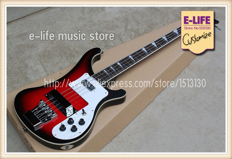 good cheap chinese electric bass guitar 4 strings ricken r4003 different colors to choose from. Black Bedroom Furniture Sets. Home Design Ideas