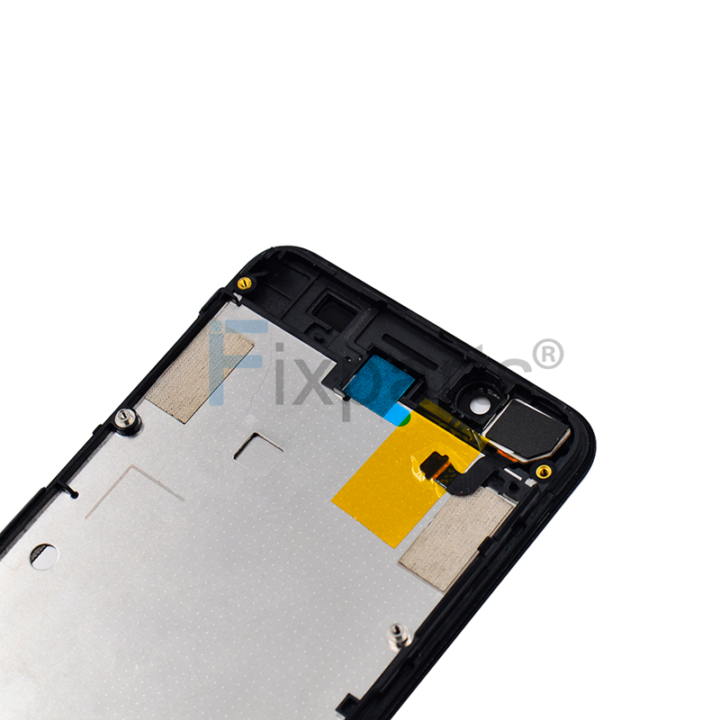100% Working Well For 4 5 Lenovo A319 LCD Display Touch Screen Digitizer  Assembly with Frame Replacment