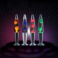 Car Liquid Lava Lamp Sound LED Plasma Ball Electrostatic Night Light Aluminium Alloy Lamp Decoration   Lights|Decorative Lamp|   -