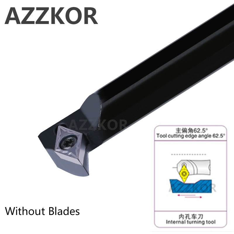 Internal Turning Tools Cutting Bar S16Q-SDWCR07 Lathe Cutter Wholesale S10K-SDWCR07 Carbide Inserts CNC Holder AZZKOR Inner Tool