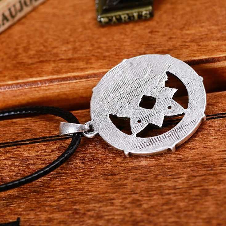 Старинная серебряная подвеска в виде лисы Тотем звезда Signet винтажное ожерелье с амулетом