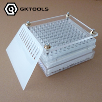 Capsule Filling Machine 100 Holes Capsule Filling Board With Tamping Tool Can Customize 00 0 1