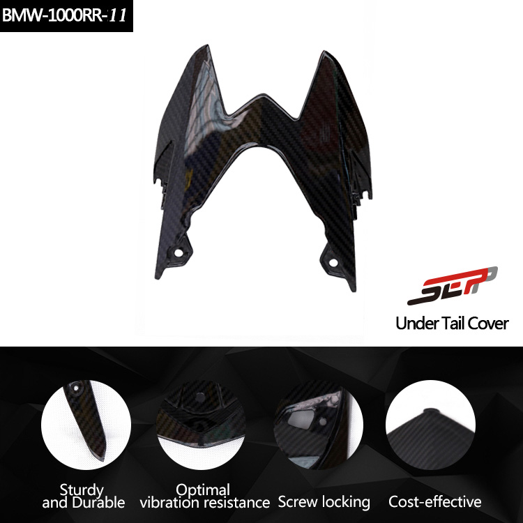 SEP Motorcycle Accessories Carbon Fiber Rear Seat Tail Fairing Panel Light Cover For BMW S1000RR 2014-2017 ...
