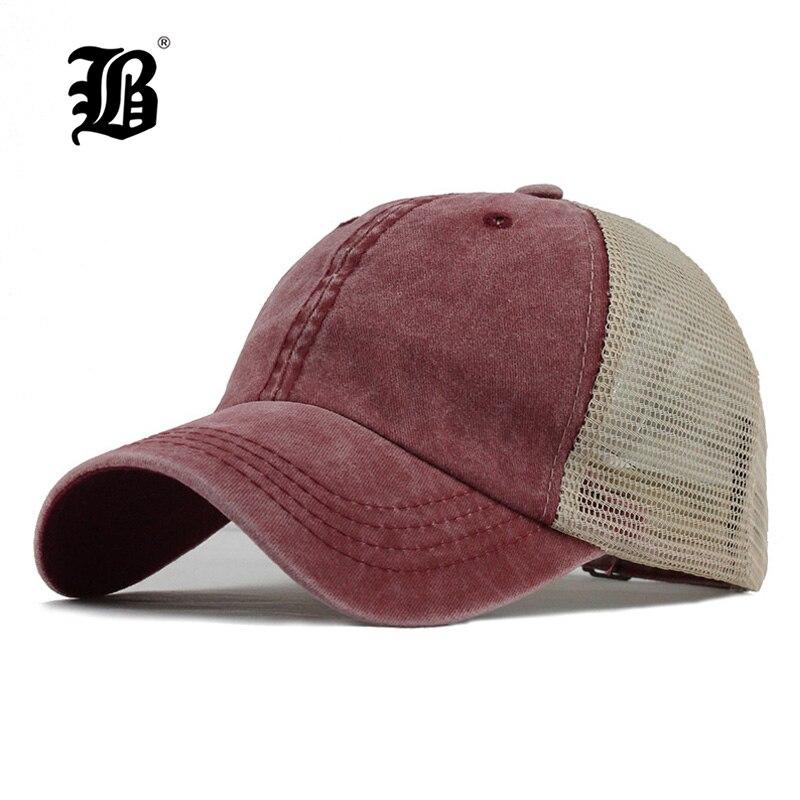 [FLB] New Men's Baseball Cap Print Summer Mesh Cap Hats For Men Women Snapback Gorras Hombre Dad Hats Casual Hip Hop Caps F166