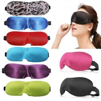 1Pcs Sleep Mask Natural Sleeping 3D Eye Mask Eyeshade Cover Shade Eye Patch Women Men Soft Portable Blindfold Travel Eyepatch Face Mask & Treatments