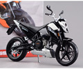 Cool 1/12 Scale Diecast Black Motorcycle Assembly Model Toys Kit K KTM 690 Duke 3 Model Kids Toys Gifts   Collections