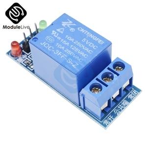 10 шт. DC AC 220 В 1CH 1 канал релейный модуль Интерфейсная плата щит для Arduino 5 в низкий уровень триггера один PIC AVR DSP ARM MCU