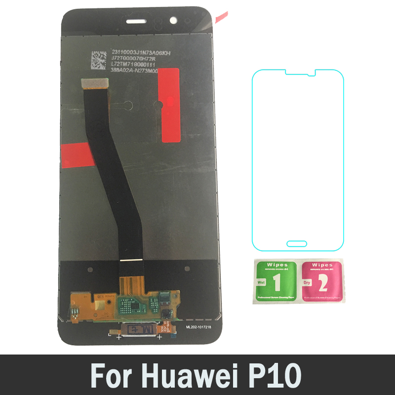 New High Quality 100% Tested Working AMOLED LCDs For Huawei P10 LCD Screen Display Touch Digitizer Assembly
