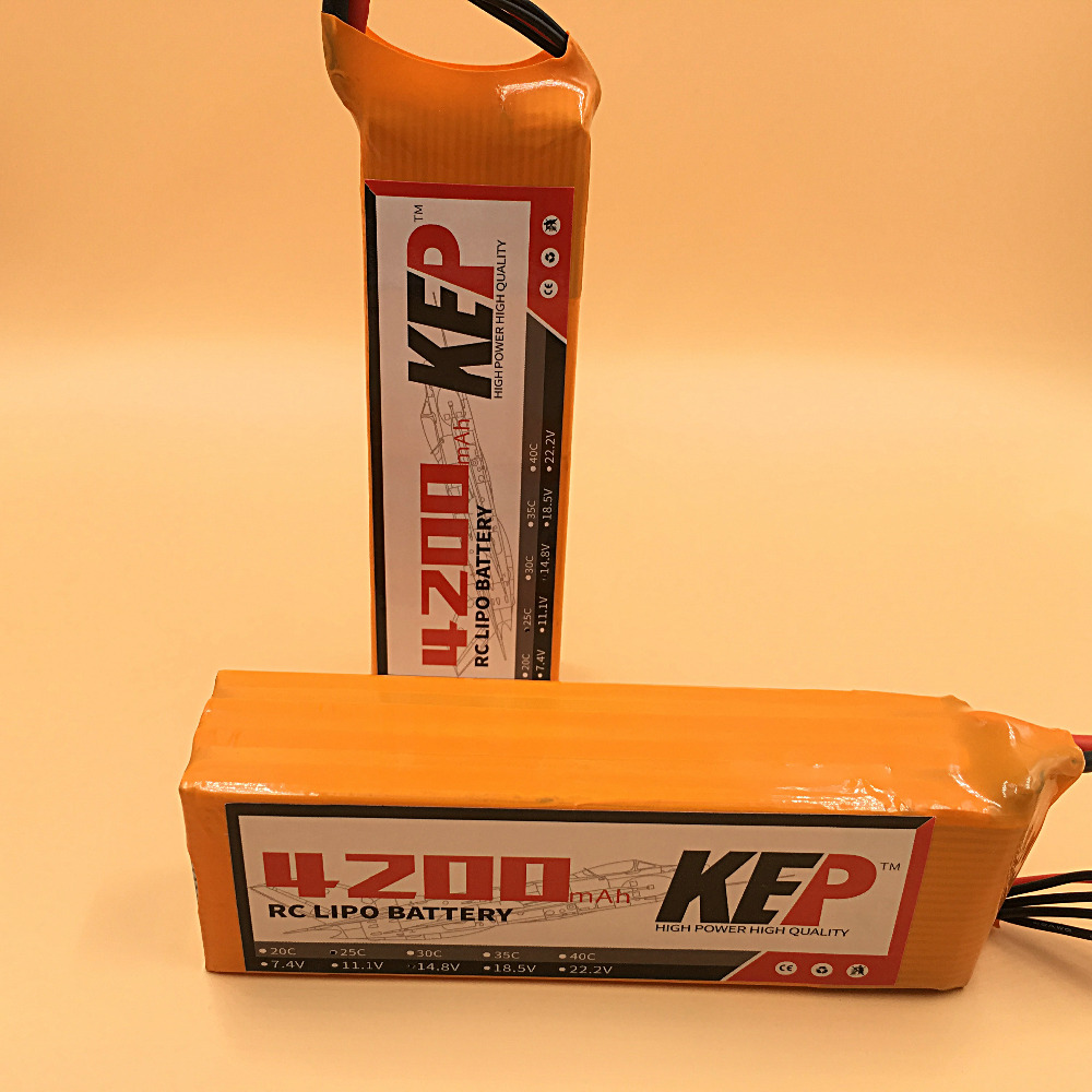 KEP 6S RC Lipo Battery 22.2v 4200mAh 30C For RC Aircraft Helicopter Multicopter Car Boat Drones Quadcopter Li-polymer Battey 6S nzace power 6s lipo battery 22 2v 4200mah 60c rc helicopter rc car rc boat quadcopter remote control toys li polymer battey