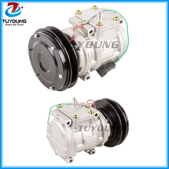 US $115 9 5% OFF|Aliexpress com : Buy Superior quality 10PA15C auto AC  compressor For John Deere Tractor Kubota ND447200 0240 4333459 AT215510