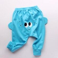 купить Spring/Summer Boys/Girls Pants Harem Pants 1-6yrs Children Clothing Solid Cotton Casual Loose Full-Length Pants Baby Boys Pants дешево