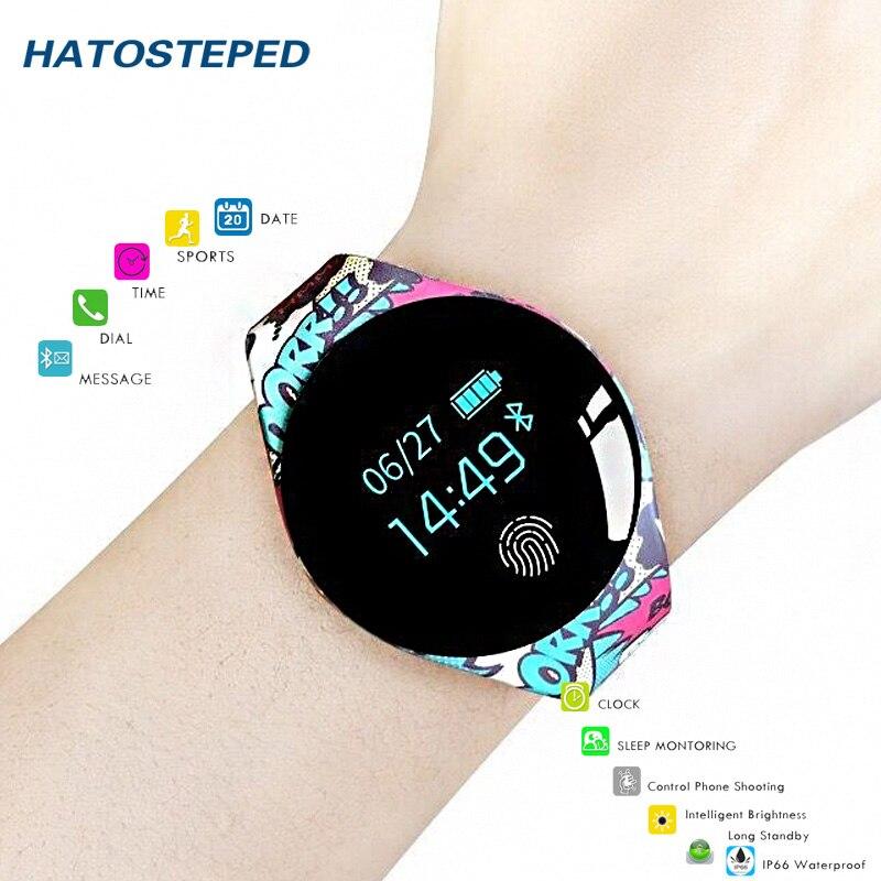 2f09c3a42b77 Comprar H8 de silicona reloj de detección de movimiento reloj inteligente  Deporte Fitness hombres mujeres dispositivos para IOS Android Online Baratos