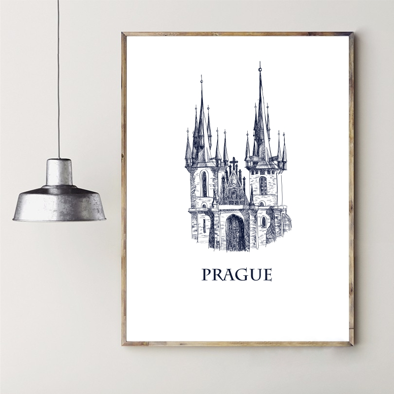 modern picture frames 11x14 for sale photo images world famous building series printing canvas handmade architectural sketch decorative wall font