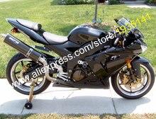 Hot Sales,Body Kit For Kawasaki NINJA ZX10R 2004 2005 ZX-10R 04 05 ZX 10R Black Customized Motorbike Fairing (Injection molding)