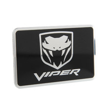 Car Styling Metal Auto Car Sticker Emblem Badge Viper Decal For Dodge Viper SRT 6 8 GTS Ram Charger Challenger Durango JCUV(China)
