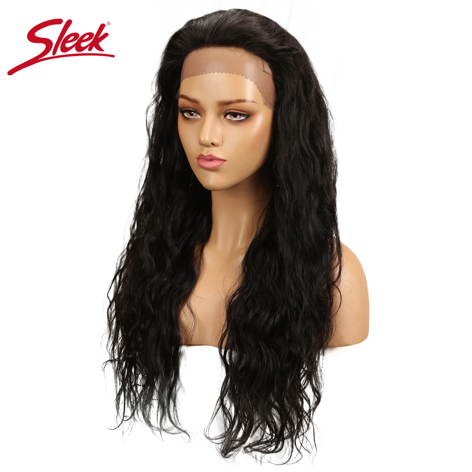 Sleek Brazilian Remy Body Wave Human Hair Wig For Black Women Lace Front Human Hair Wigs Natural 12 16 20 24 Inch Free Ship