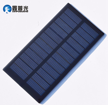 Xinpuguang 5pcs 0.9W 6V Mini Solar Panel Epoxy Resin Polycrystalline Charger DIY for Light Science Outdoor Factory Retail Price