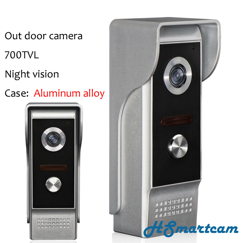 New Home Security Out Door Camera 700TVL Night Vision (Case Aluminum Alloy) For Video Intercom Doorbell System Door Phone Bell