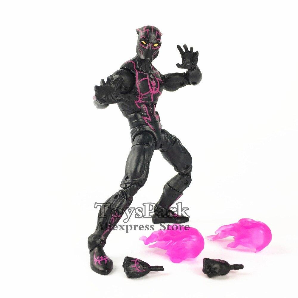 De 2018 Figura Pantera Héroe Acción Legends 6 Marvel Series Negra qRx0R1Ht