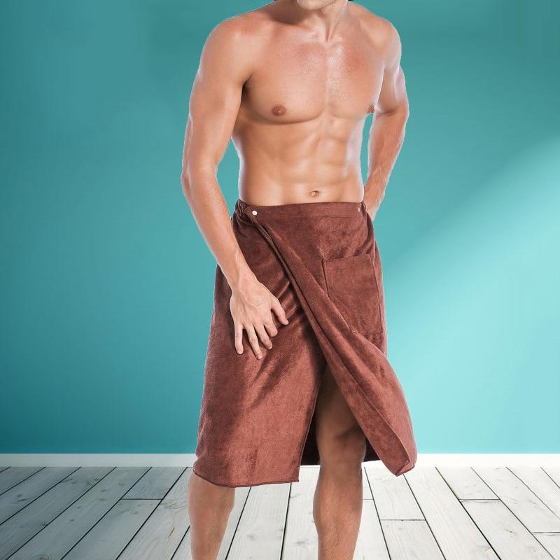 Fashion Man Wearable Microfiber Bath and Beach Towel 2
