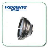 Weimeng brand high quality Yag 1064nm Focusing mirror & field lens F=254 optical fiber collimator for laser marking machine