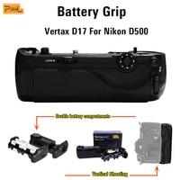 Pixel D17 Battery Grip For Nikon D500 Vertical shooting Double Power Vertical shutter Macro shooting Vertical shutter release