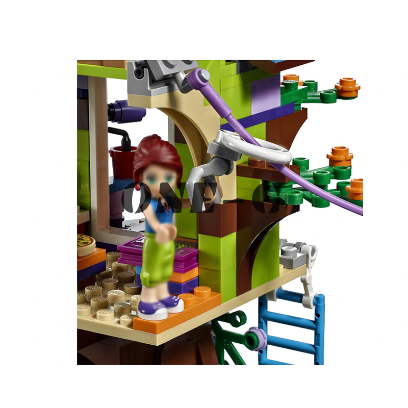 Building Blocks Mias Tree House 10854 356pcs Compatible With Lego