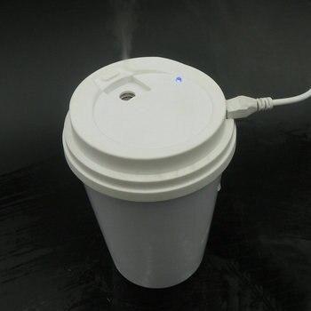 Tstcoco 300ml humidificador usb 5W Coffee cup car humidifier diffusori di oli essenziali per aromaterapia vaporizador jy-007