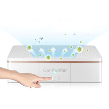 Car Air Purifier with Auto Air Freshener PM2.5 Formaldehyde Smell Removal Anion Car Air Ionizer Household Sterilize Purificador 5v 1w vehicle air purifier mini auto car fresh air anion lonic purifier in addition to formaldehyde haze