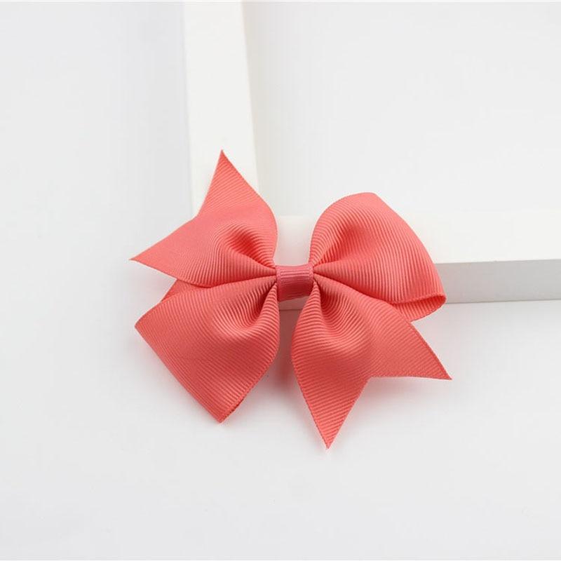 Новые модные маленькие заколки для волос для маленьких девочек, милые заколки для волос карамельного цвета с цветком, детские заколки, аксессуары для волос - Цвет: a16 Watermelon Red