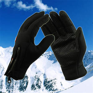 Riding-Gloves Horseback-Equipment Equestrian Waterproof Winter Mittens-Screen Military