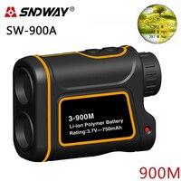 SNDWAY SW 900A Telescope Trena Laser Rangefinders Distance Meter Digital Monocular Hunting Golf Laser Range Finder