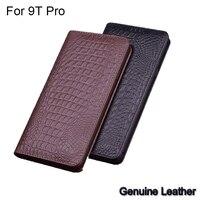 Luxury Genuine Leather flip For Xiaomi Mi 9T Pro Leather Half pack phone case For Xiaomi Mi 9 T Pro phone cases shockproof Mi9T
