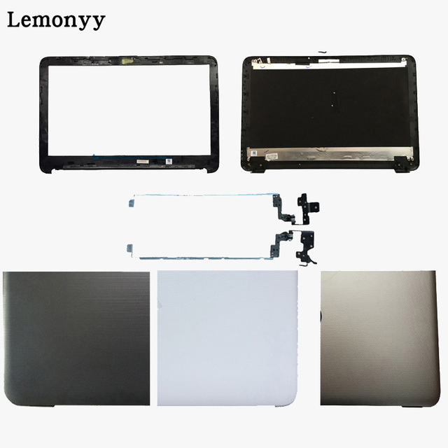 New laptop cover For HP TPN-C125 TPN-C126 HQ-TRE RTL8723BE LCD Back Cover/LCD front bezel/Hinges 813926-001