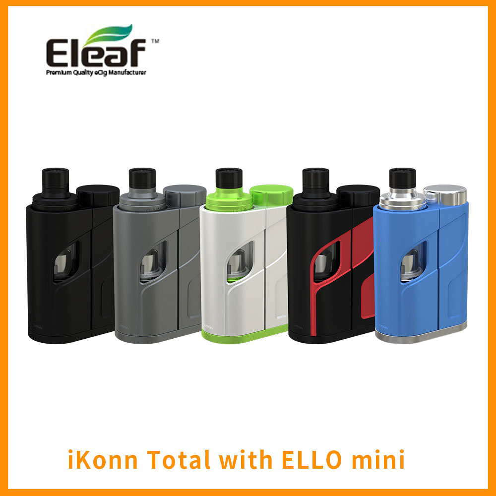 Russian Warehouse Original Eleaf Ikonn Total With Ello Mini Starter Kit 2ml Tank 50w Output Wattage 510 Thread E-cig