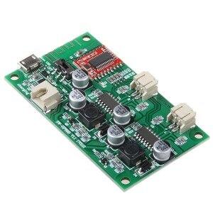 Image 4 - Amplificador estéreo Bluetooth modificado, 2x6W DC 5V 3,7 V, placa que puede conectar batería de litio con A8 020 de gestión de carga
