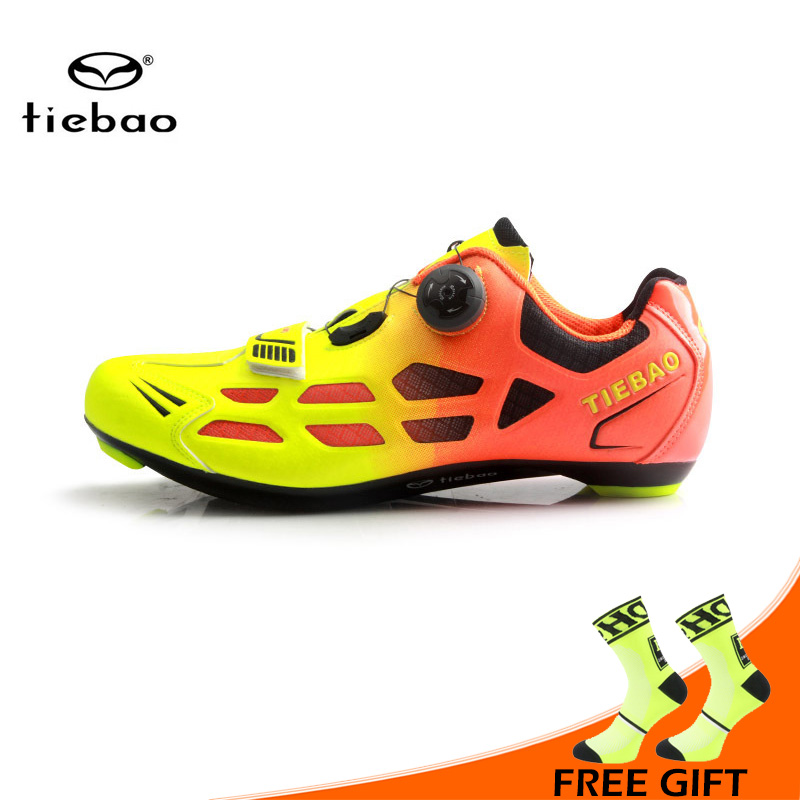 Tiebao New Men Road Bike Shoes Auto-lock Cycling Shoes Breathable Bicycle Riding Shoes Athletic Sports Shoe Sapatos ciclismoTiebao New Men Road Bike Shoes Auto-lock Cycling Shoes Breathable Bicycle Riding Shoes Athletic Sports Shoe Sapatos ciclismo