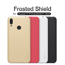 цена на Nilkin For Huawei Y7 Prime 2019 / Y7 2019 Case Cover Nillkin Frosted Shield Hard PC Back Phone Cover For Huawei Y7 2019