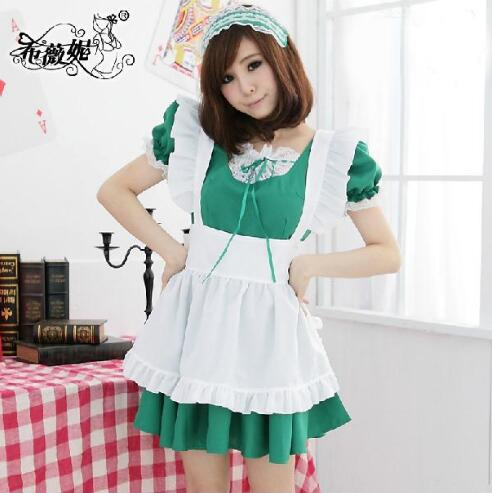 Inu x Boku Secret Service Anime Cosplay Costume <font><b>Lolita</b></font> Maid Dress K-on Housemaid Cosplay Costumes for women image