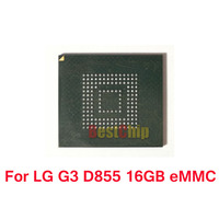 2pcs Lot For LG G3 D855 EMMC 16GB With Firmware Programmed NAND Flash Memory IC Chip