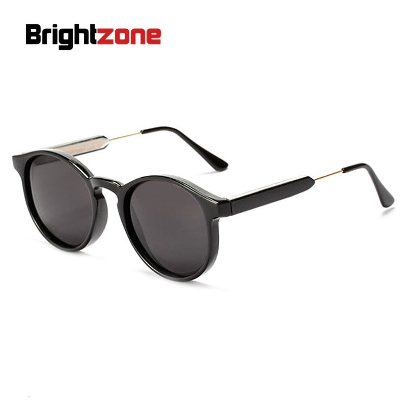 Ms. 2015 new round frame sunglasses retro sunglasses 2318 sunglasses vintage Tide brand  ...